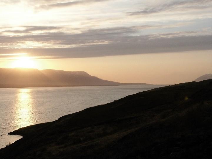 Probebeobachtung fast genau 8 Jahre vor der SoFi am 31.05.2003 um 22:20 Ortszeit bei Akureyri